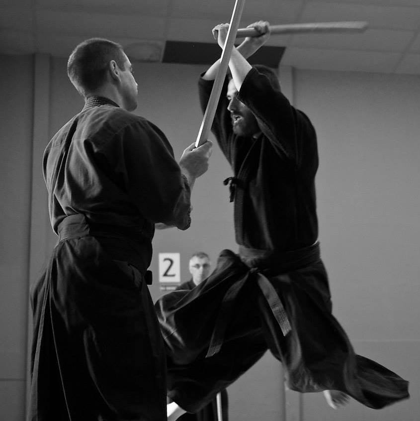 Jospeh Kennedy, Instructor Katori Shinto Ryu / Aikido